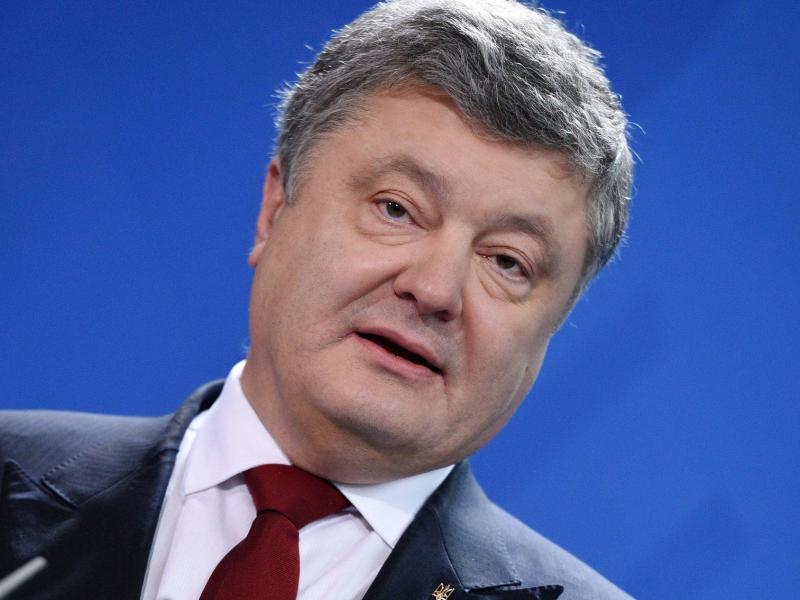 Bild zu Poroschenko