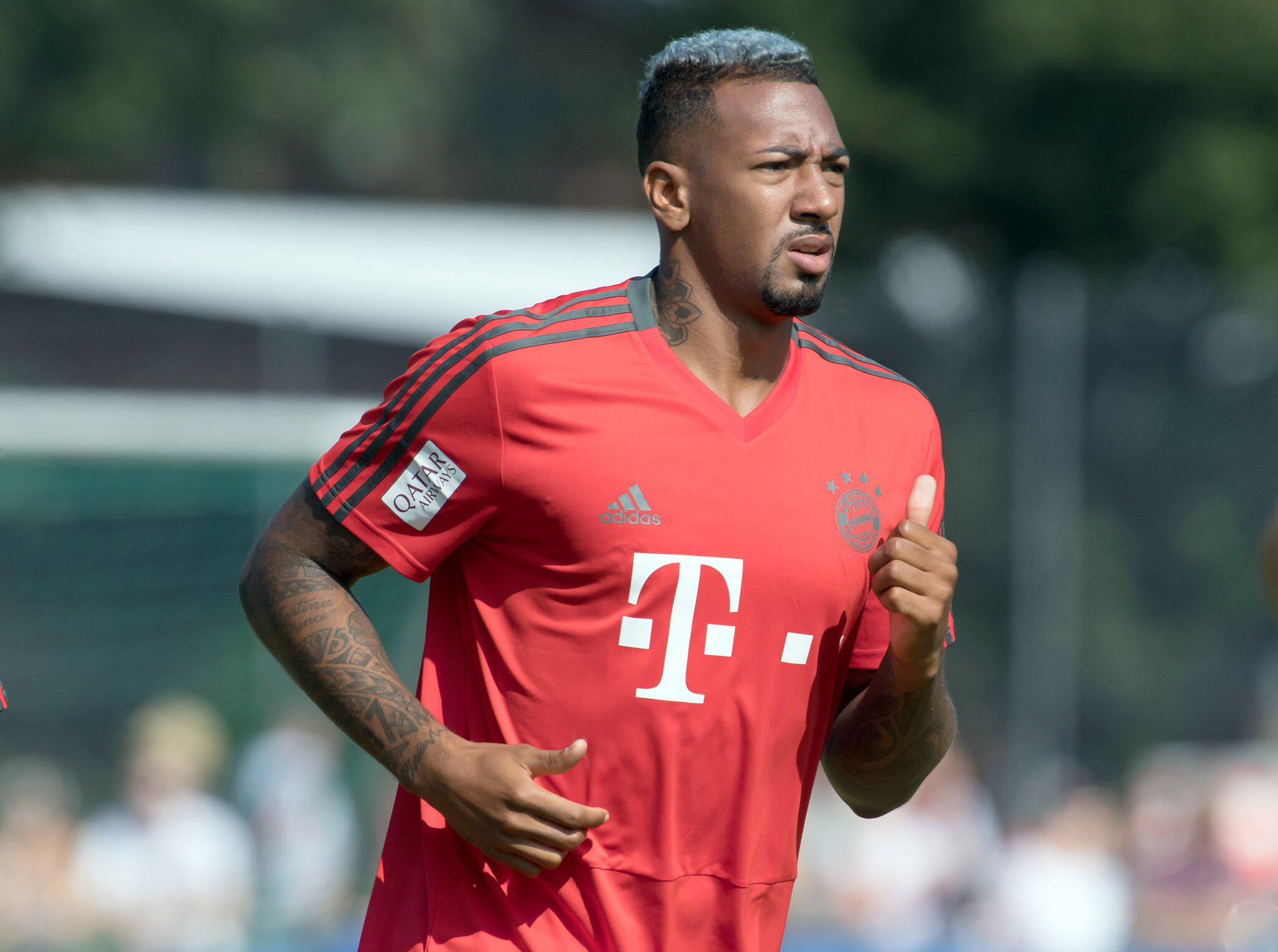 Bild zu Bayern Munich training camp in Germany