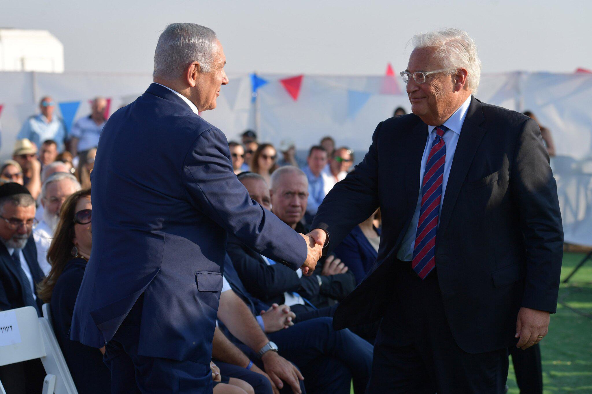 Bild zu Israel widmet US-Präsident neue Golan-Siedlung