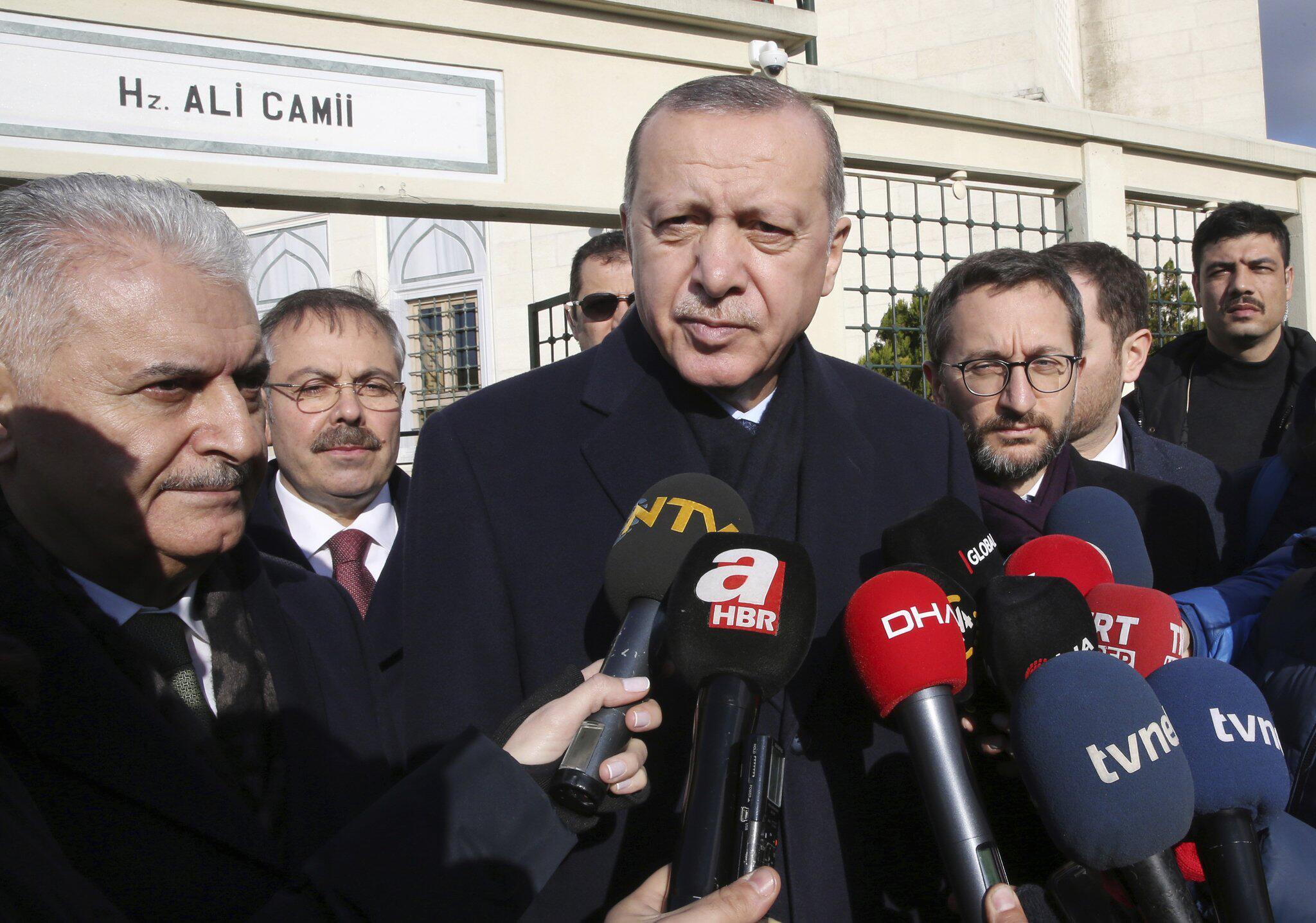 Bild zu Erdogan zu Syrien