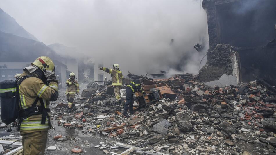 Explosion in Tirol