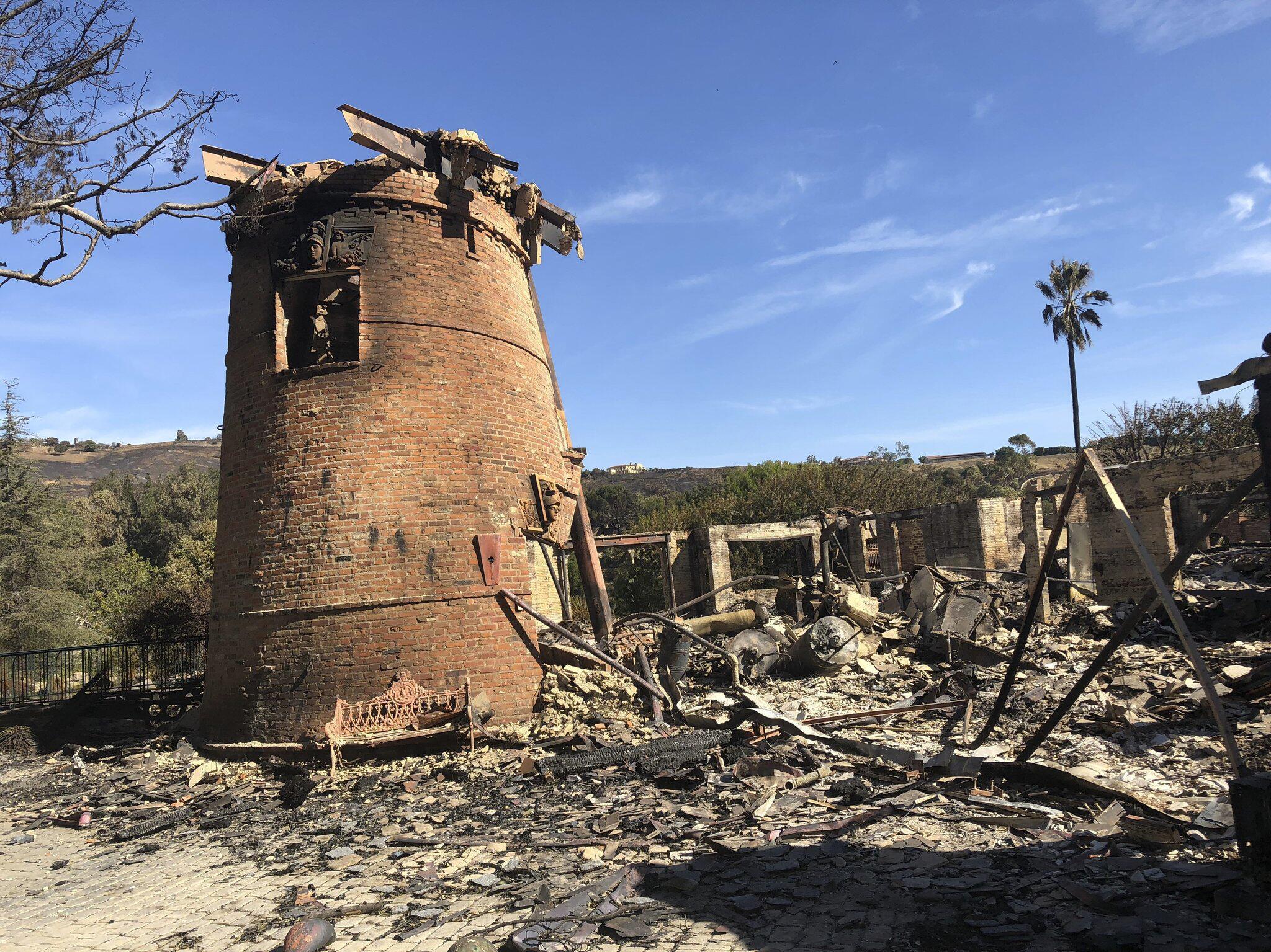 Feuer In Malibu