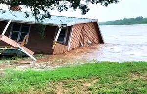 Haus im Wasser