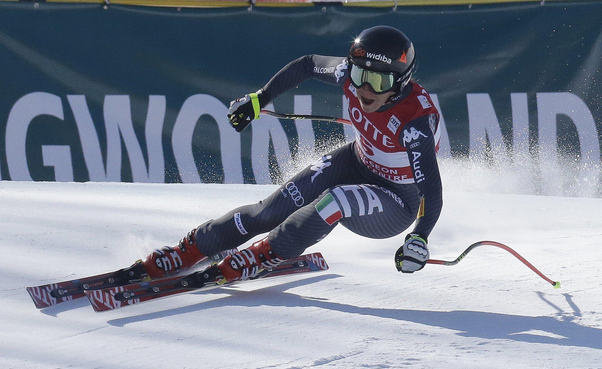 Bild zu Ski Alpin - Abfahrt Damen