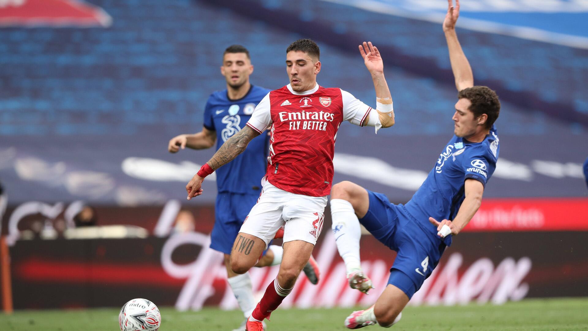 Bild zu Das FA-Cup-Finale Anfang August gewann der FC Arsenal gegen den FC Chelsea