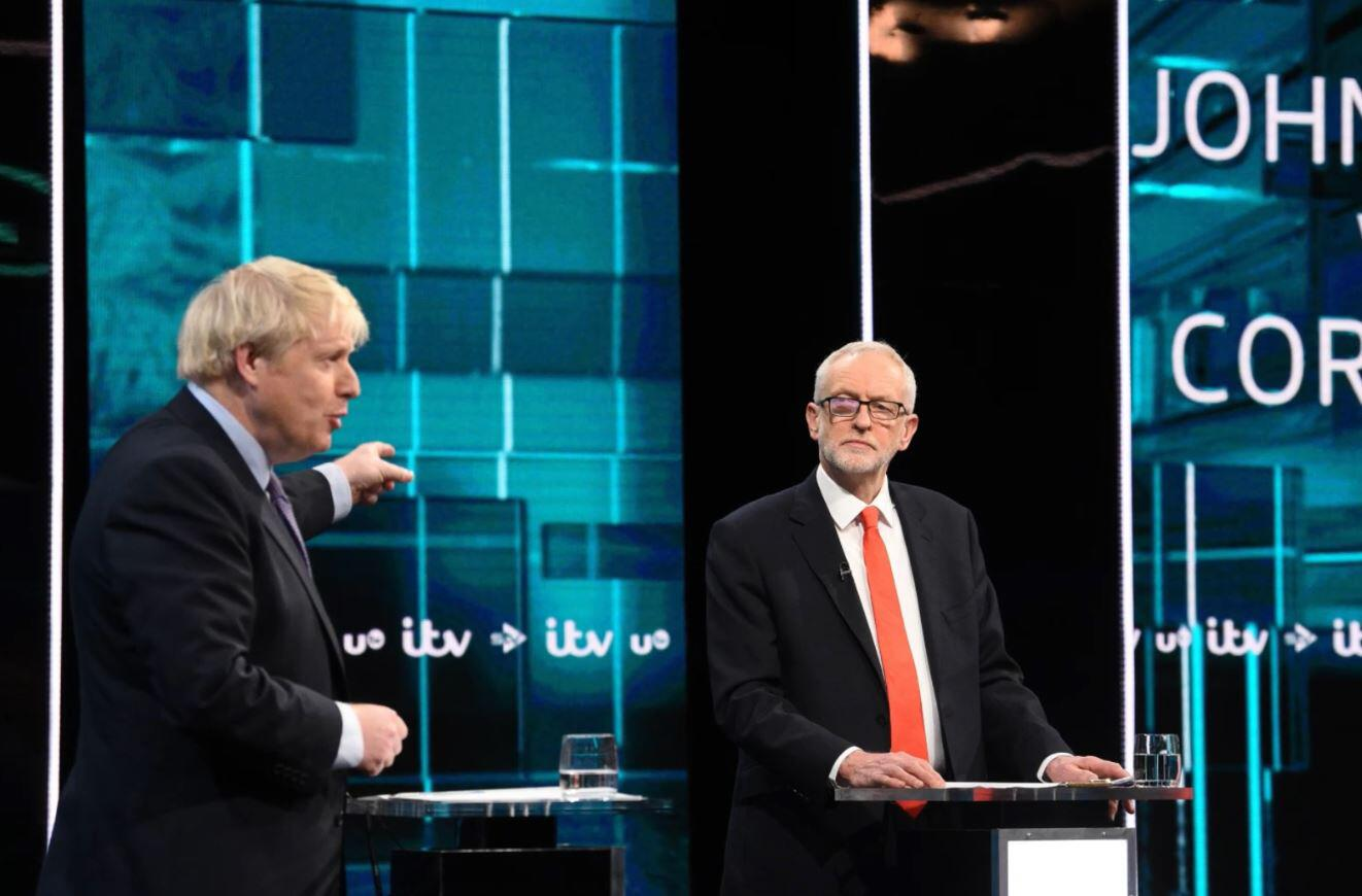Bild zu Boris Johnson, Jeremy Corbyn