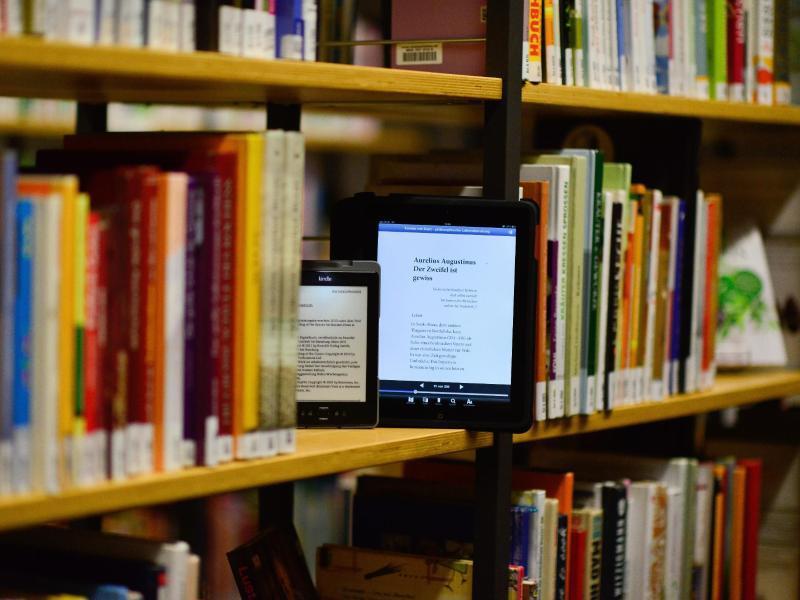 Bild zu E-Book in einer Leihbücherei