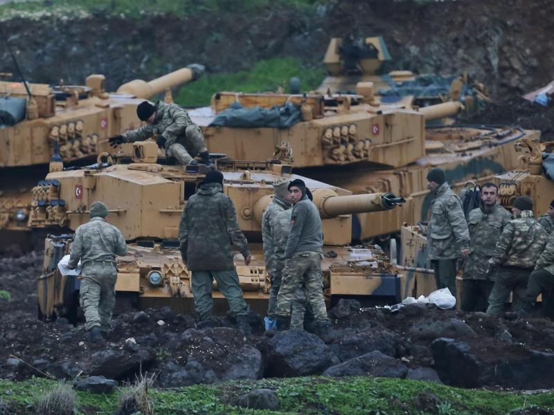 Bild zu «Leopard 2»-Panzer der Türkei