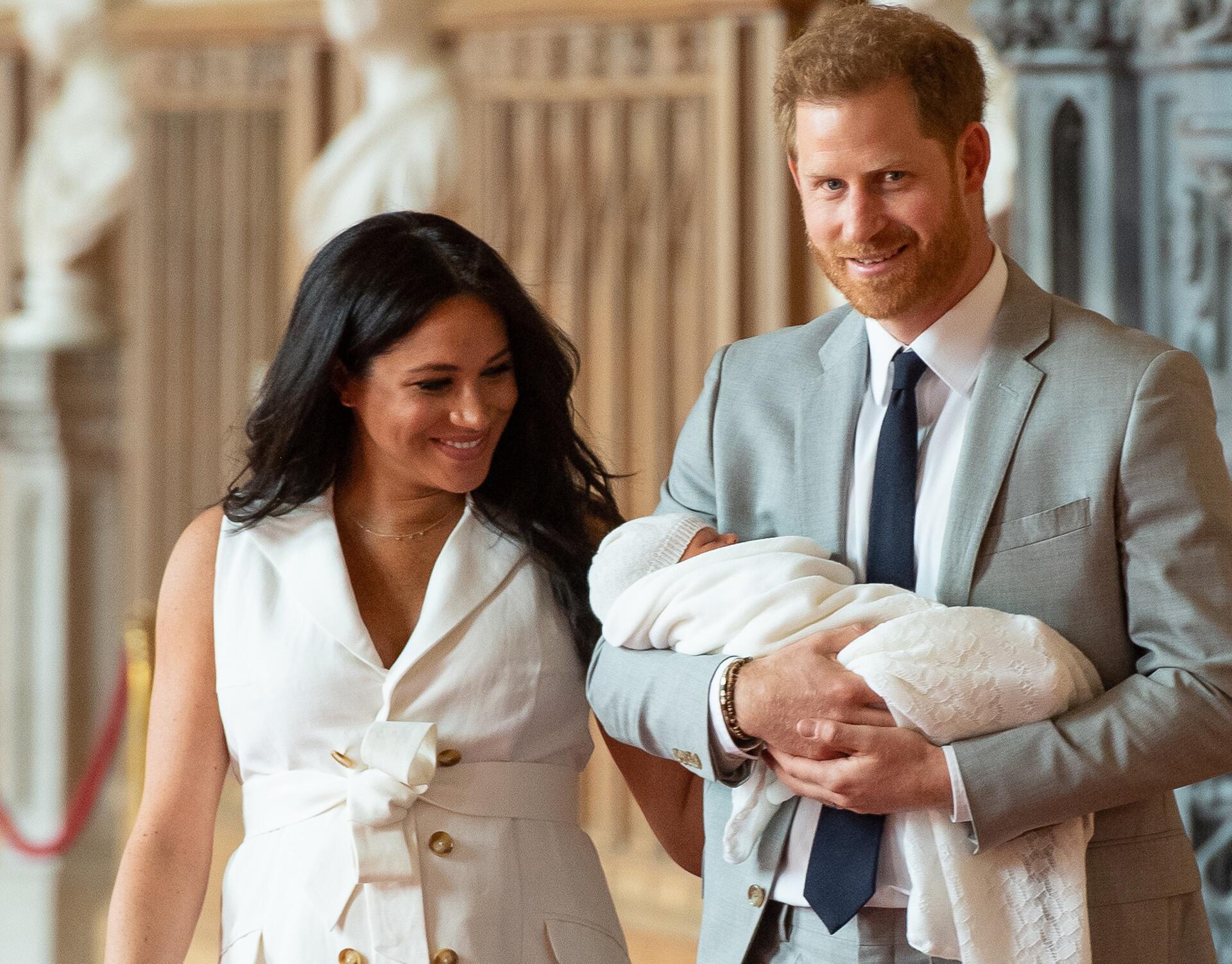 Bild zu «Baby Sussex» heisst Archie Harrison Mountbatten-Windsor