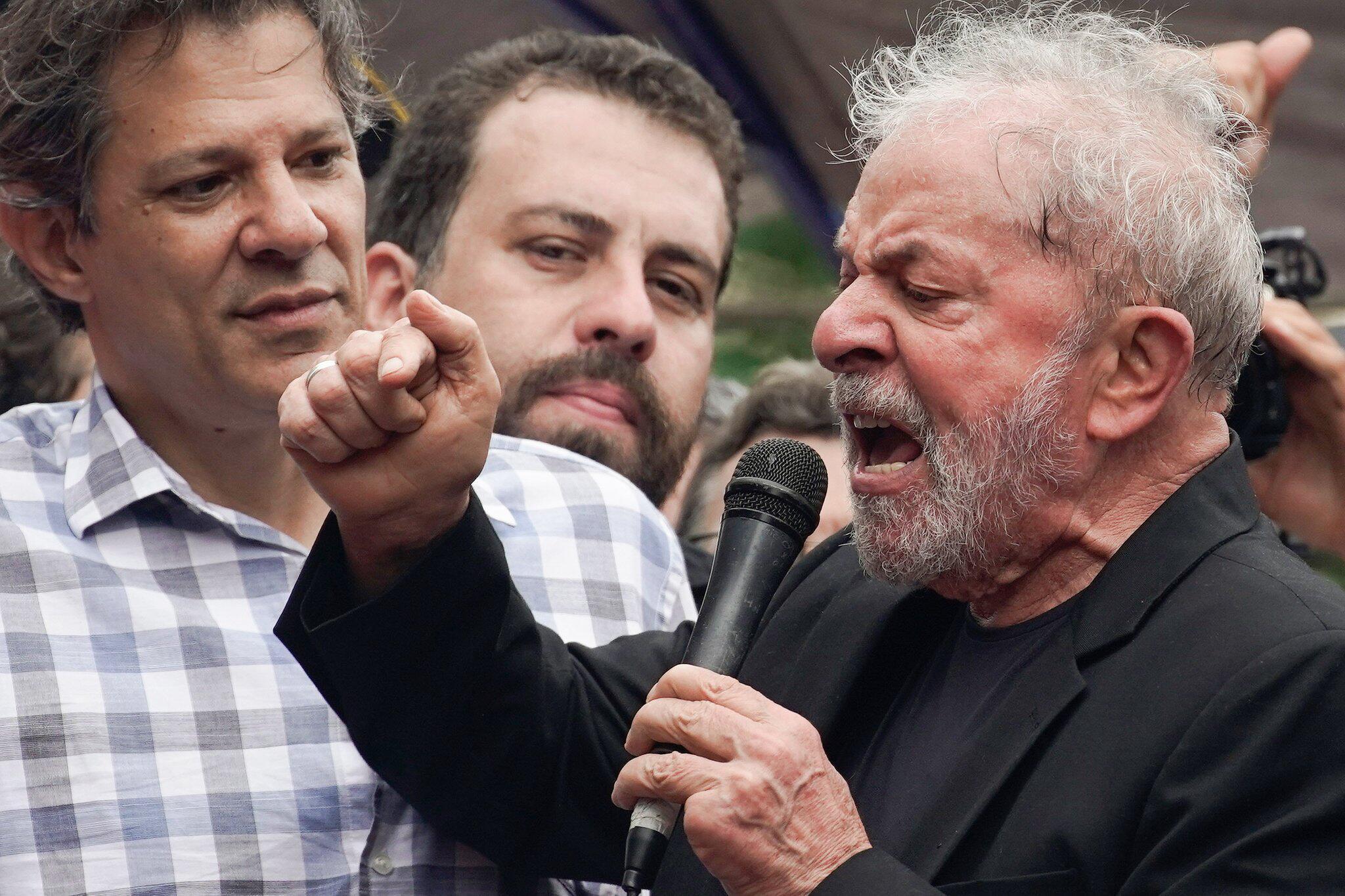 Bild zu Brasiliens Ex-Präsident Lula wieder auf freiem Fuss