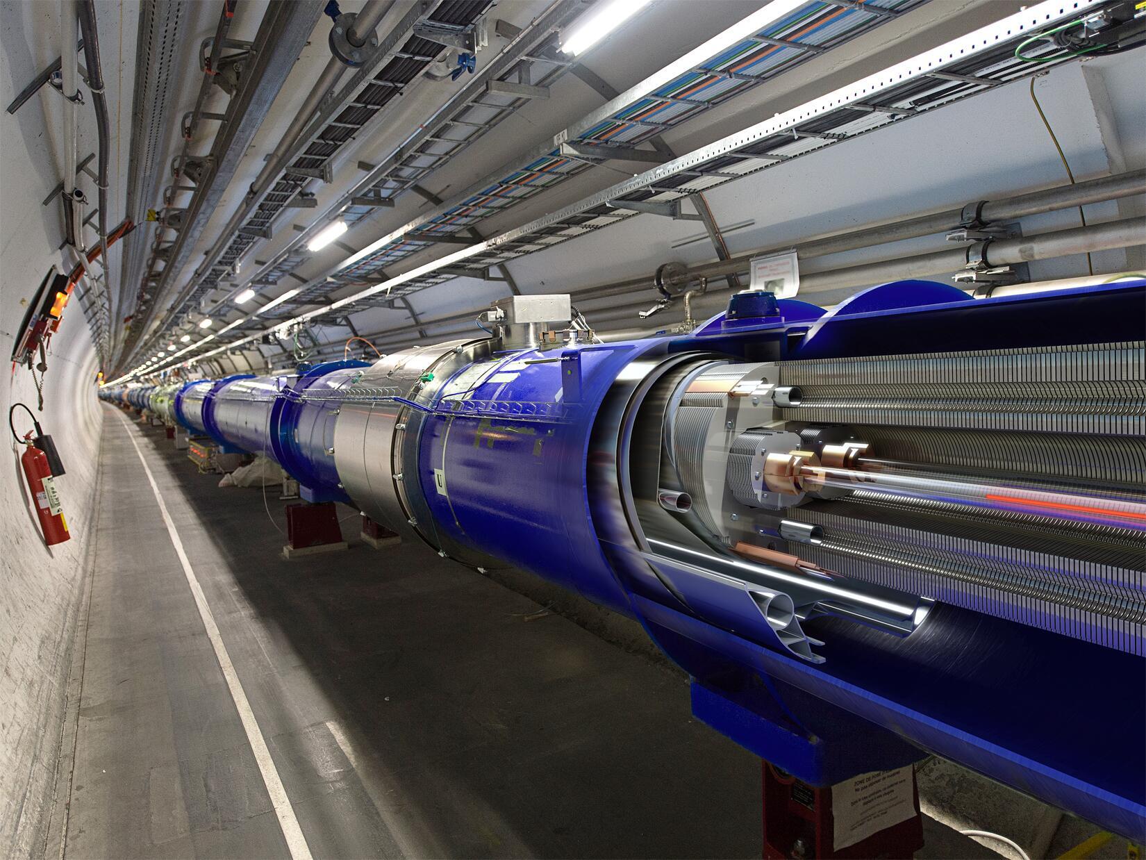 Bild zu LHC CERN Large Hadron Collider