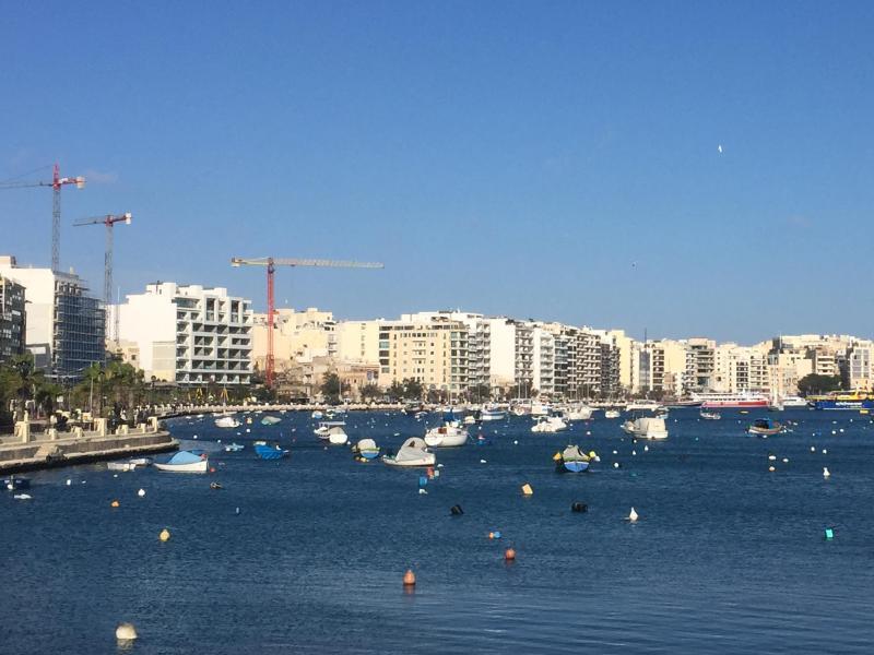 Bild zu Küstenbebauung auf Malta