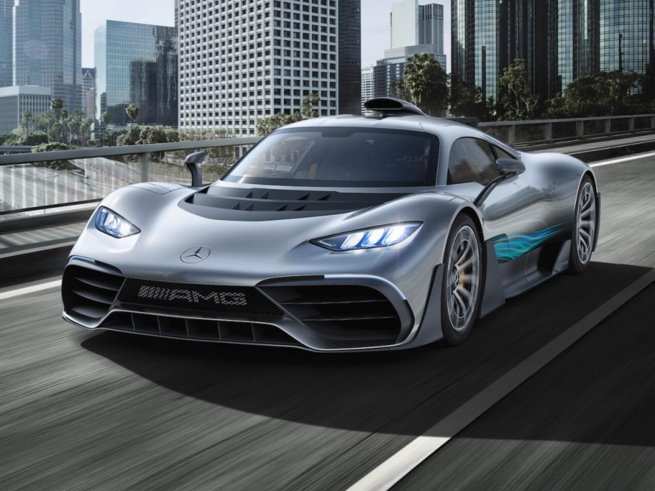 Bild zu Mercedes-AMG ONE