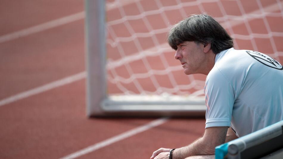 Fussball EM - Training deutsche Fussball-Nationalmannschaft