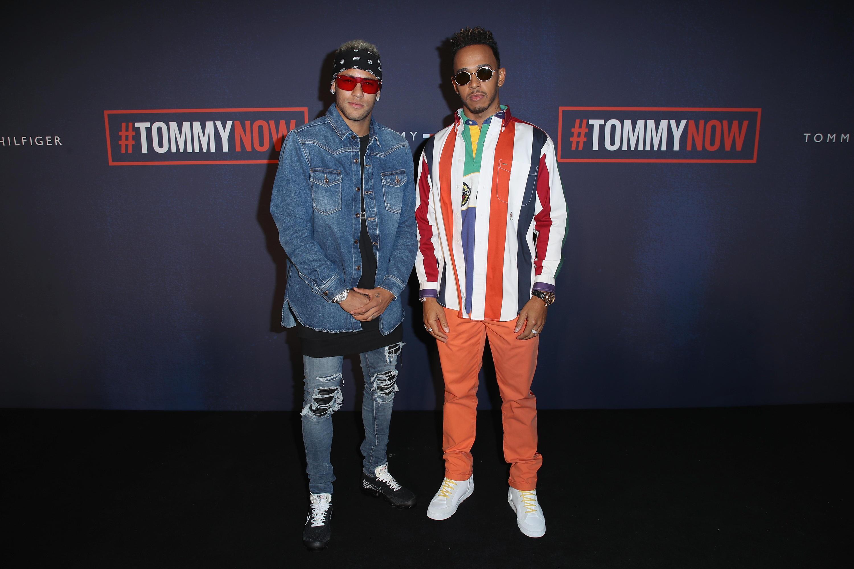 Bild zu Neymar und Lewis Hamilton