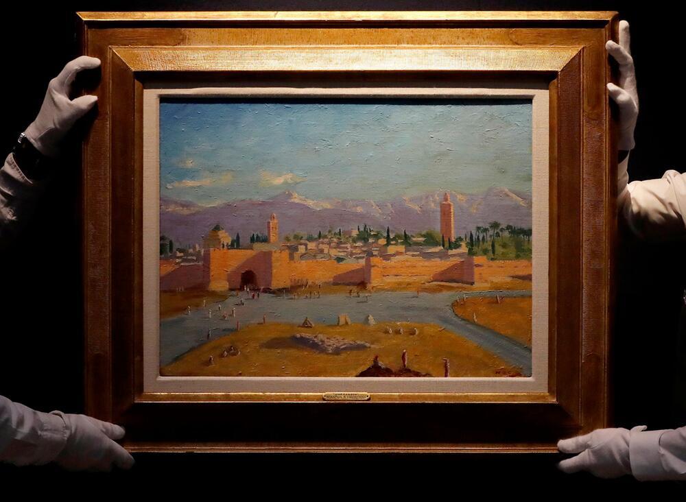 Kunstwerk von Churchill für mehr als acht Millionen Pfund versteigert
