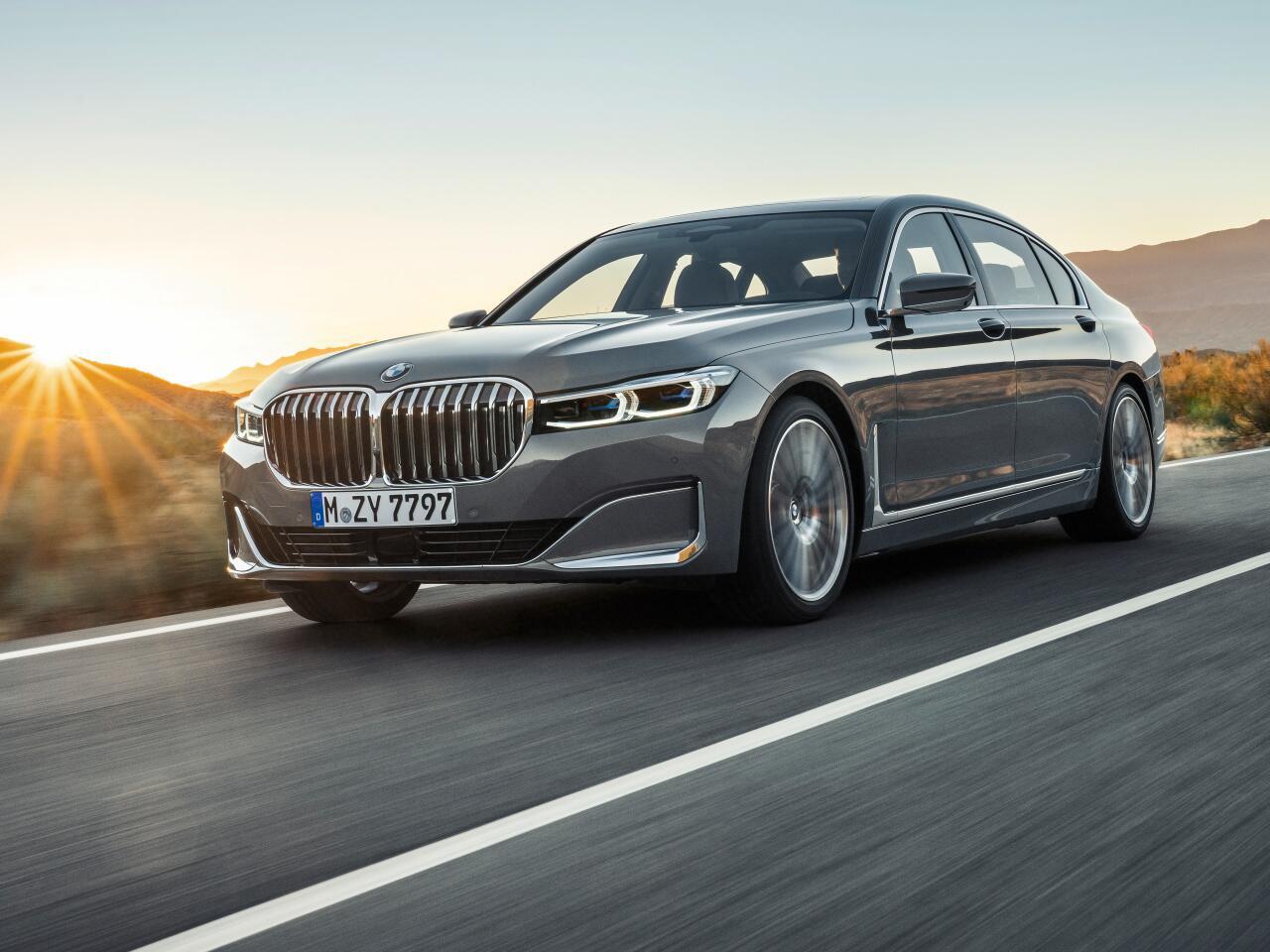 Bild zu Der neue BMW 7er: Spektakuläre Neuauflage der bayrischen Luxuslimousine