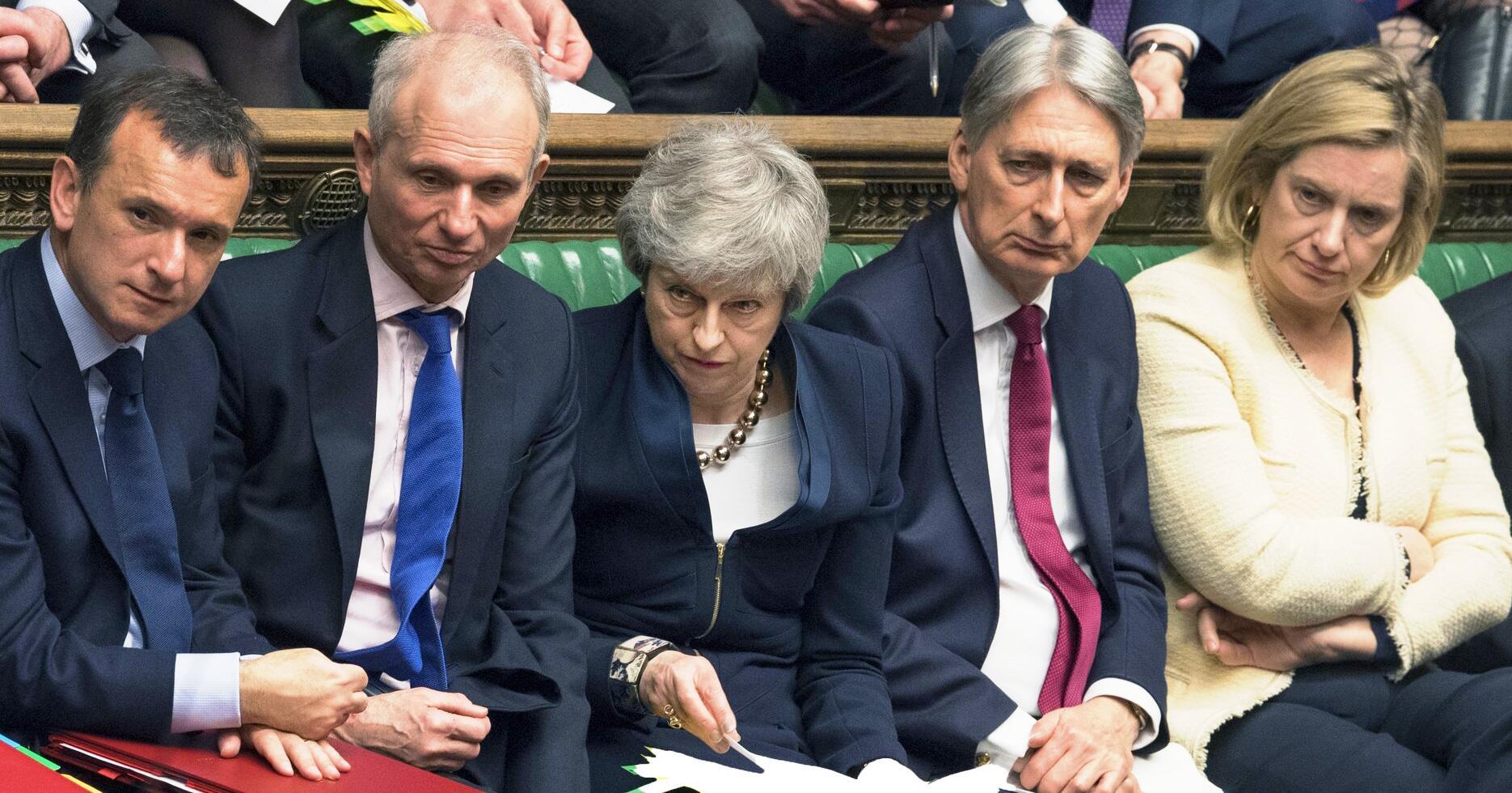 Bild zu Grossbritannien Brexit Theresa May