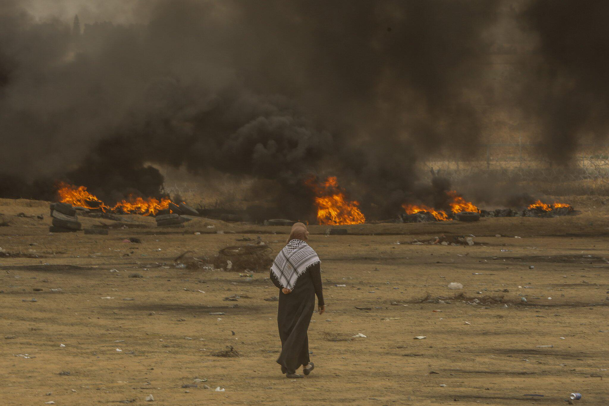 Bild zu Proteste an Gaza-Grenze
