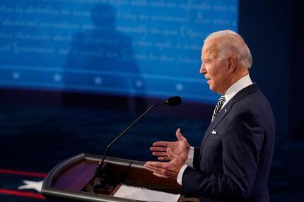 Erste TV-Debatte zwischen Trump und Biden