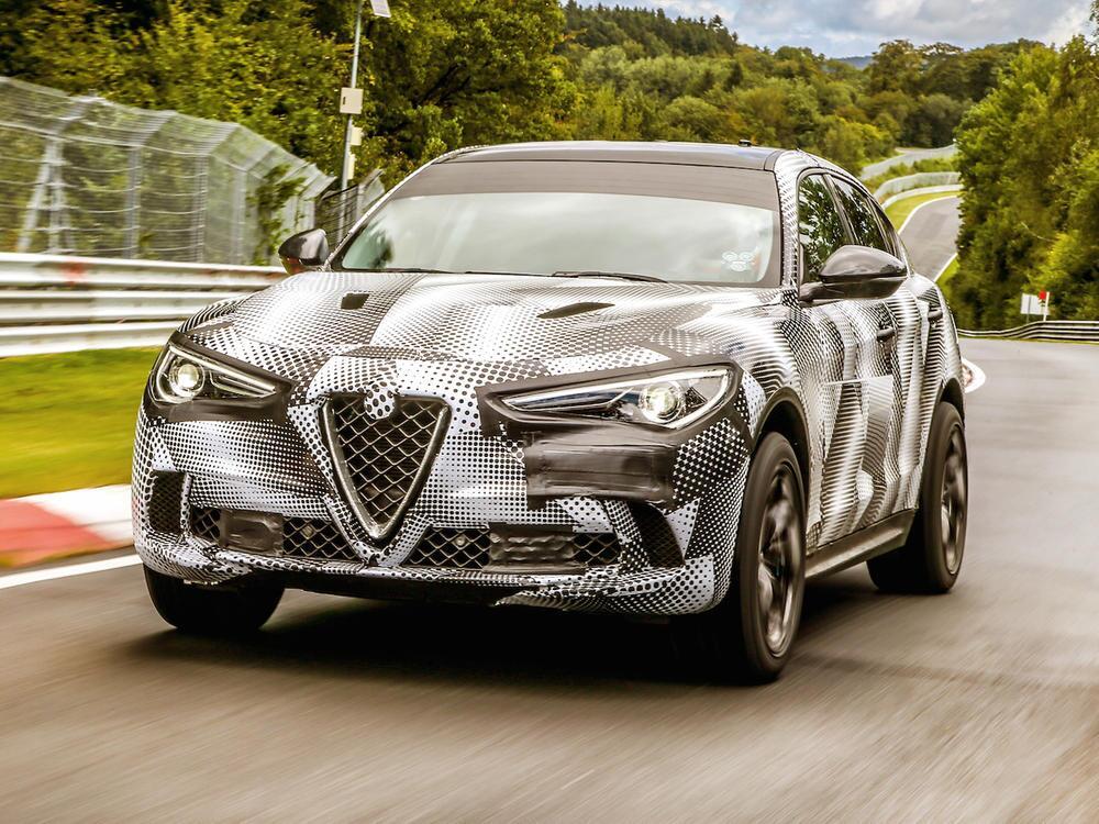 Bild zu Alfa Romeo Stelvio Quadrifoglio