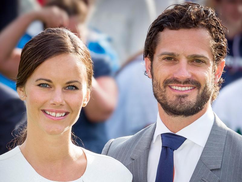 Bild zu Prinz Carl Philip + Prinzessin Sofia
