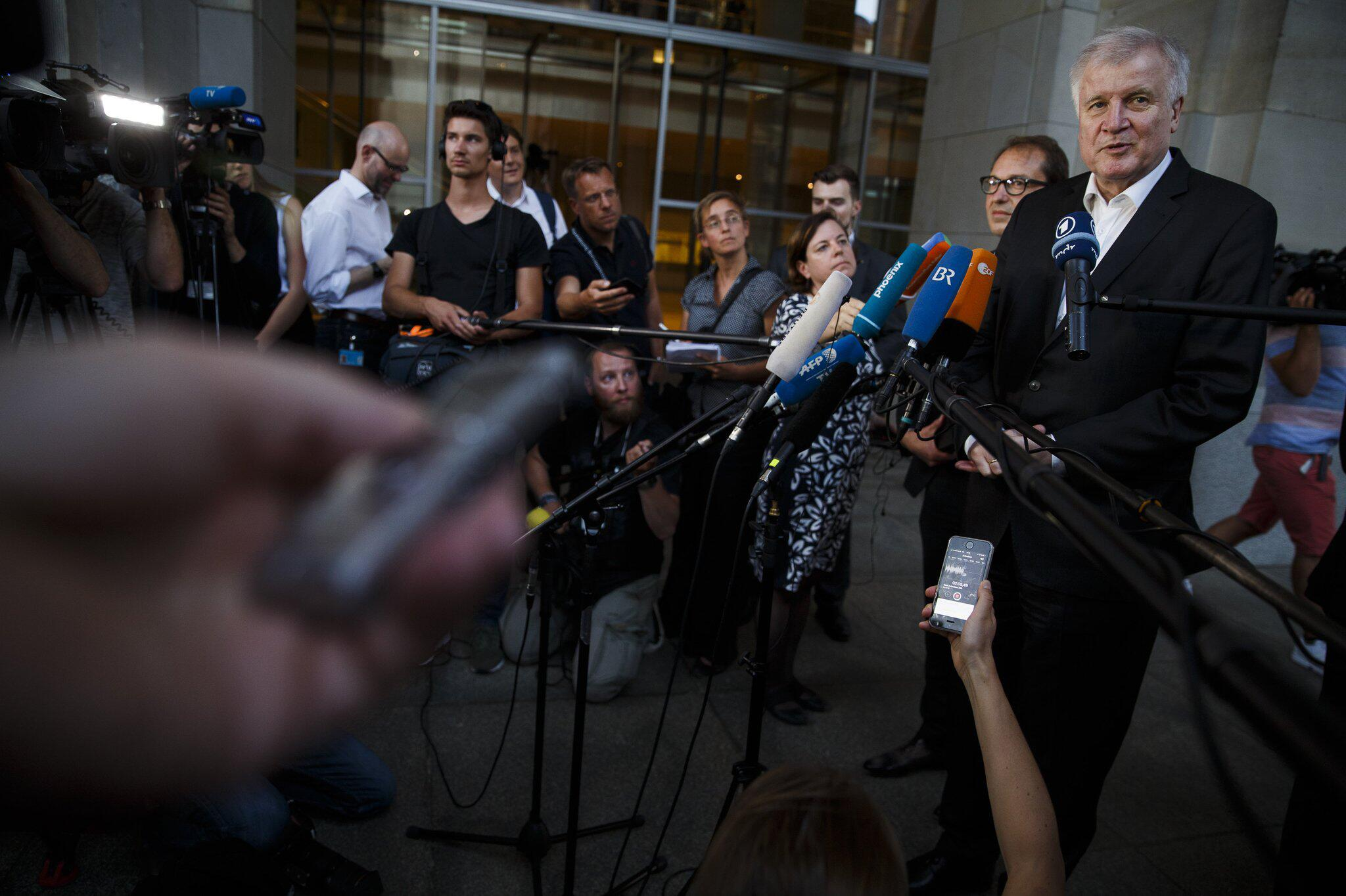 Bild zu Asylstreit - Koalitionsausschuss