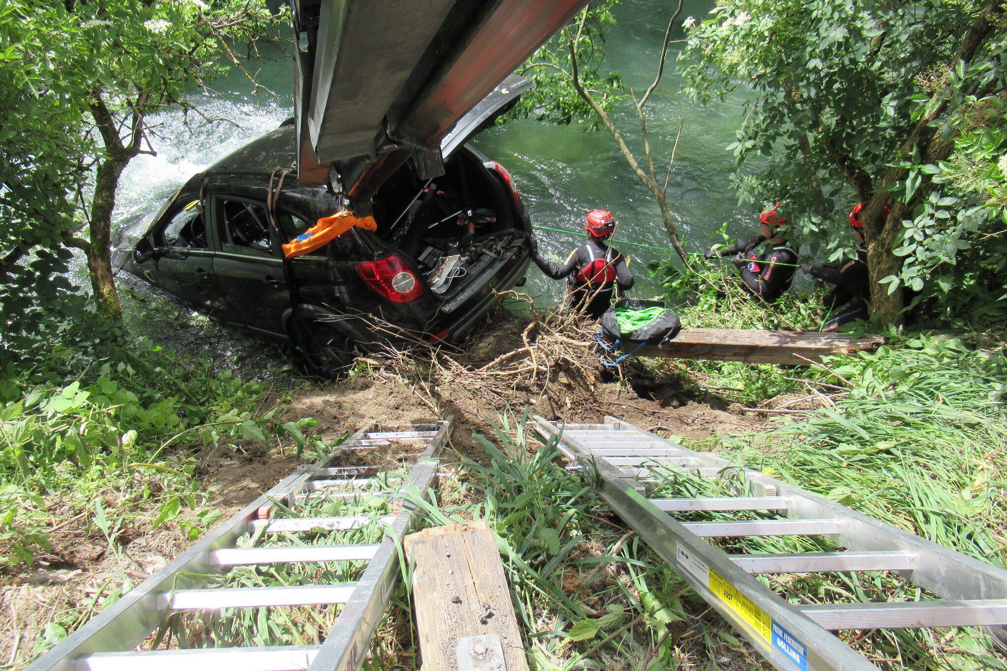 Bild zu Verkehrsunfall im Salzburger Tennengau