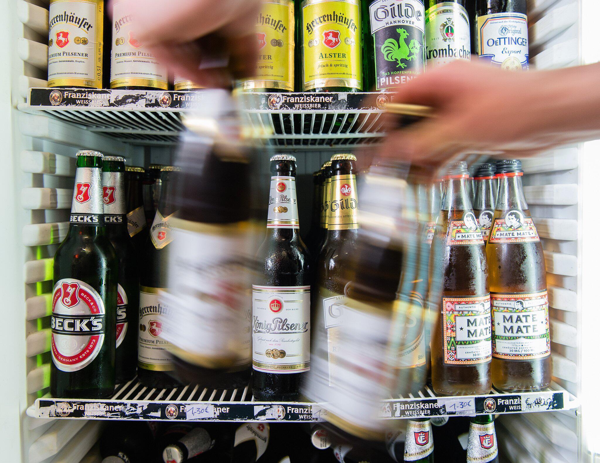 Bild zu Bier-Konsum