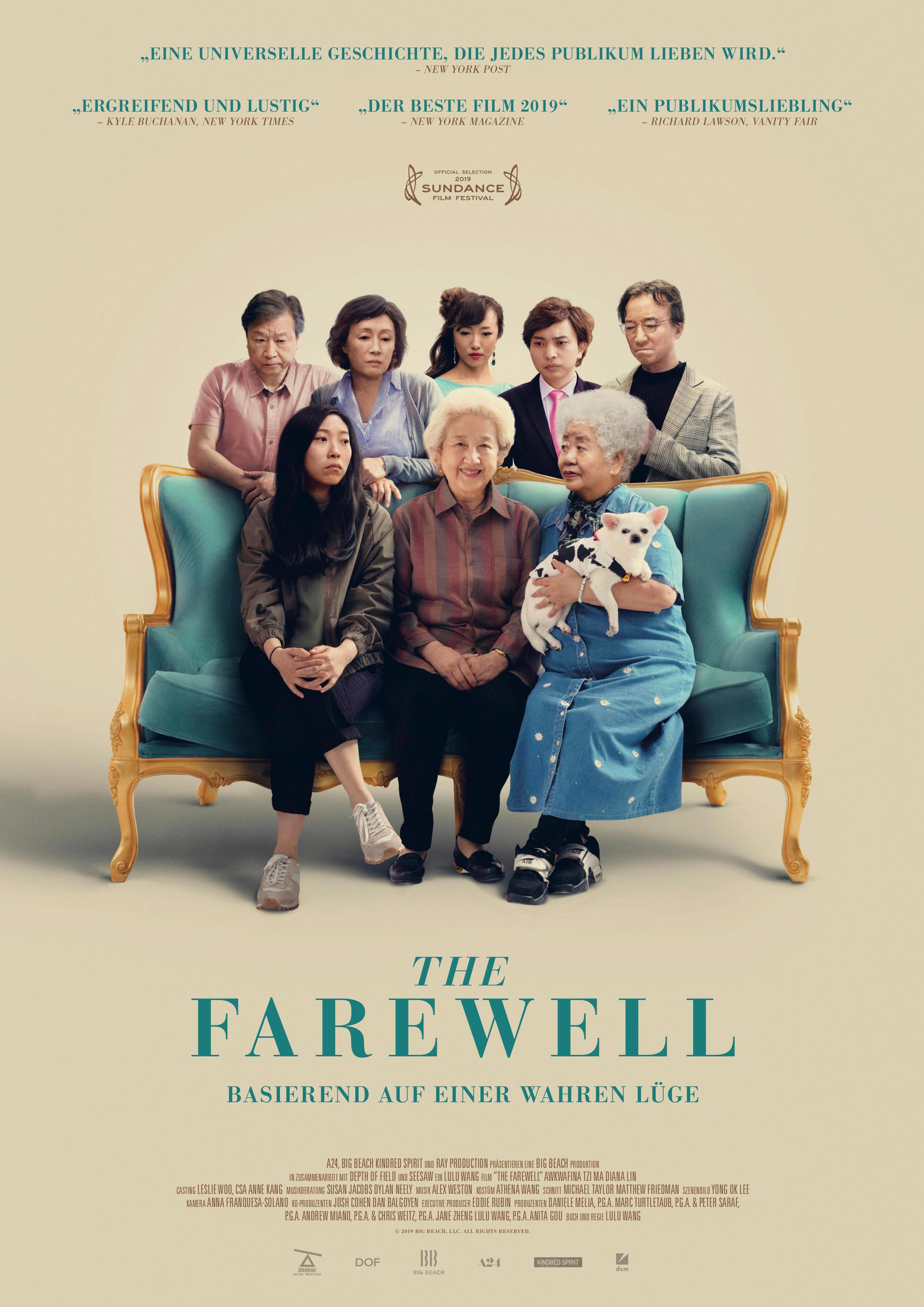 Bild zu The Farewell, Filmplakat
