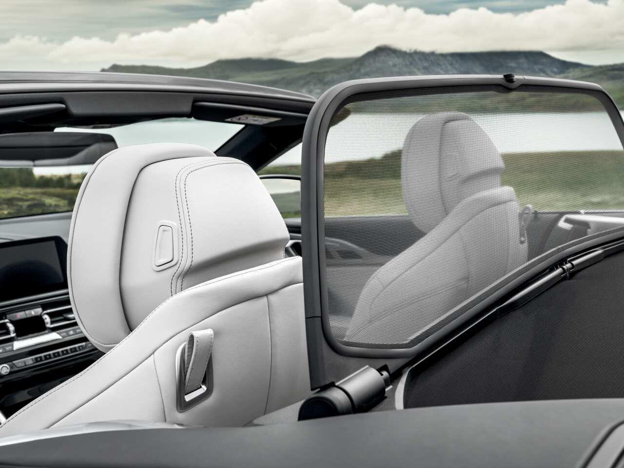 Bild zu BMW 8er Cabrio Windschott
