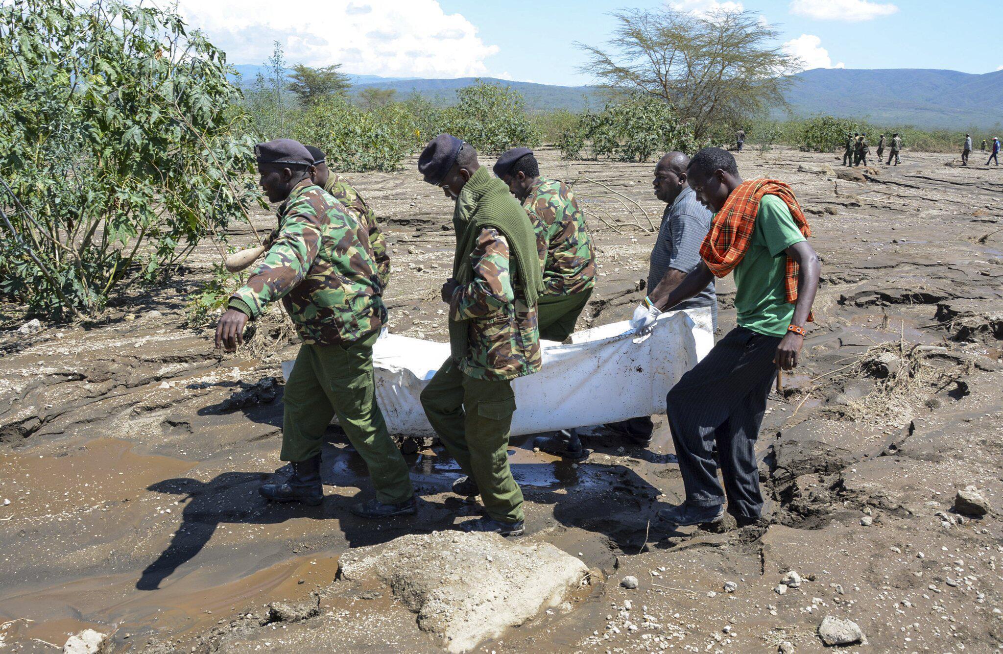 Bild zu Flutwelle in Kenia