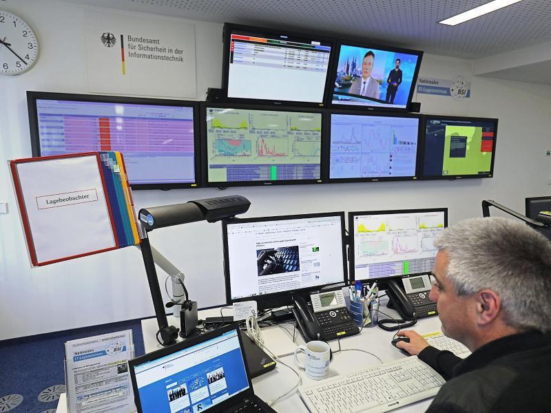 Bild zu Nationales IT-Lagezentrum