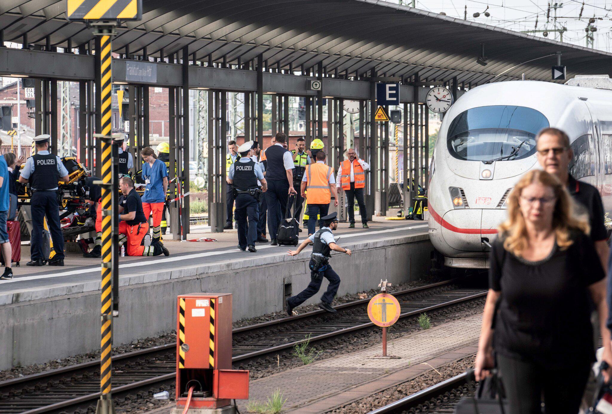 Bild zu Unfall im Frankfurter Hauptbahnhof
