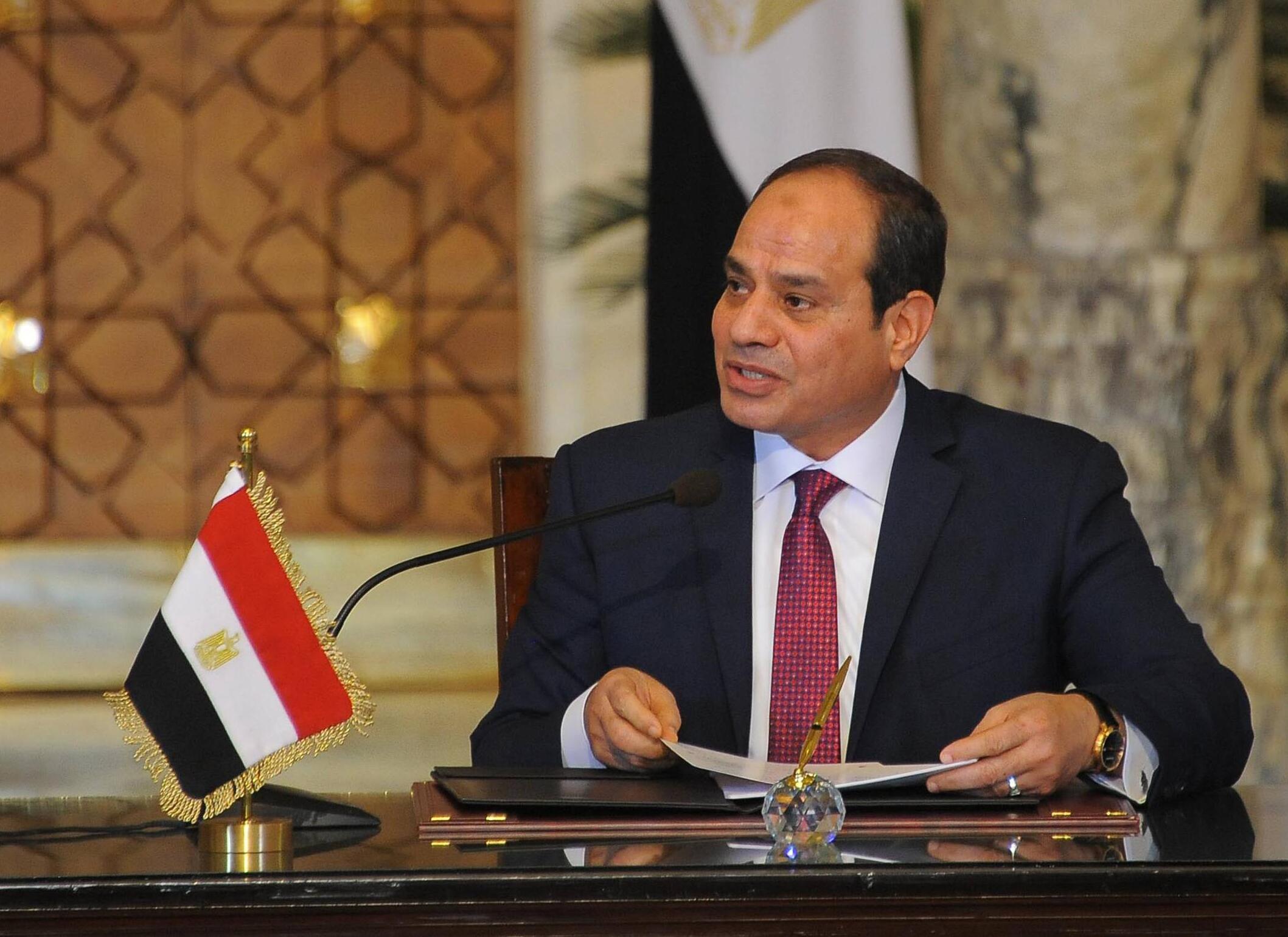 Bild zu Al-Sisi als Präsident von Ägypten wiedergewählt