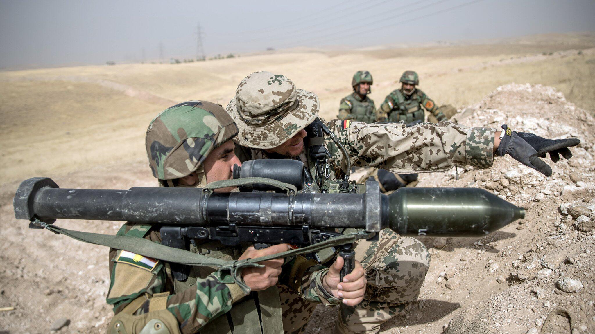 Bild zu Bundeswehreinsatz im Irak