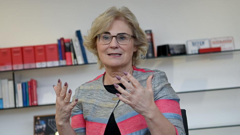 Justizministerin Christine Lambrecht