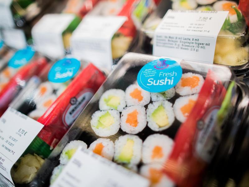 Bild zu Supermarkt-Sushi