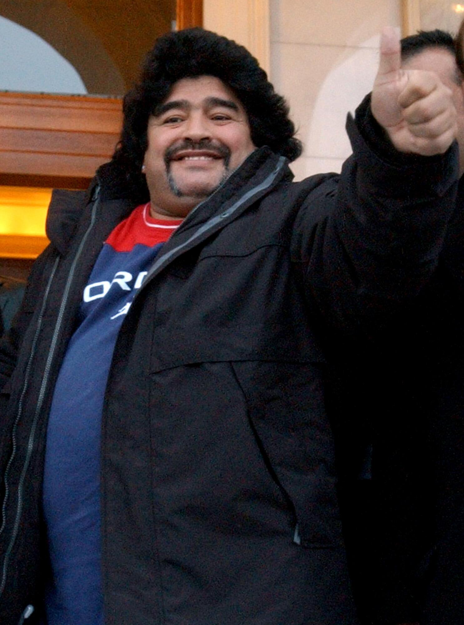 Bild zu Diego Maradona, Griechenland, Athen