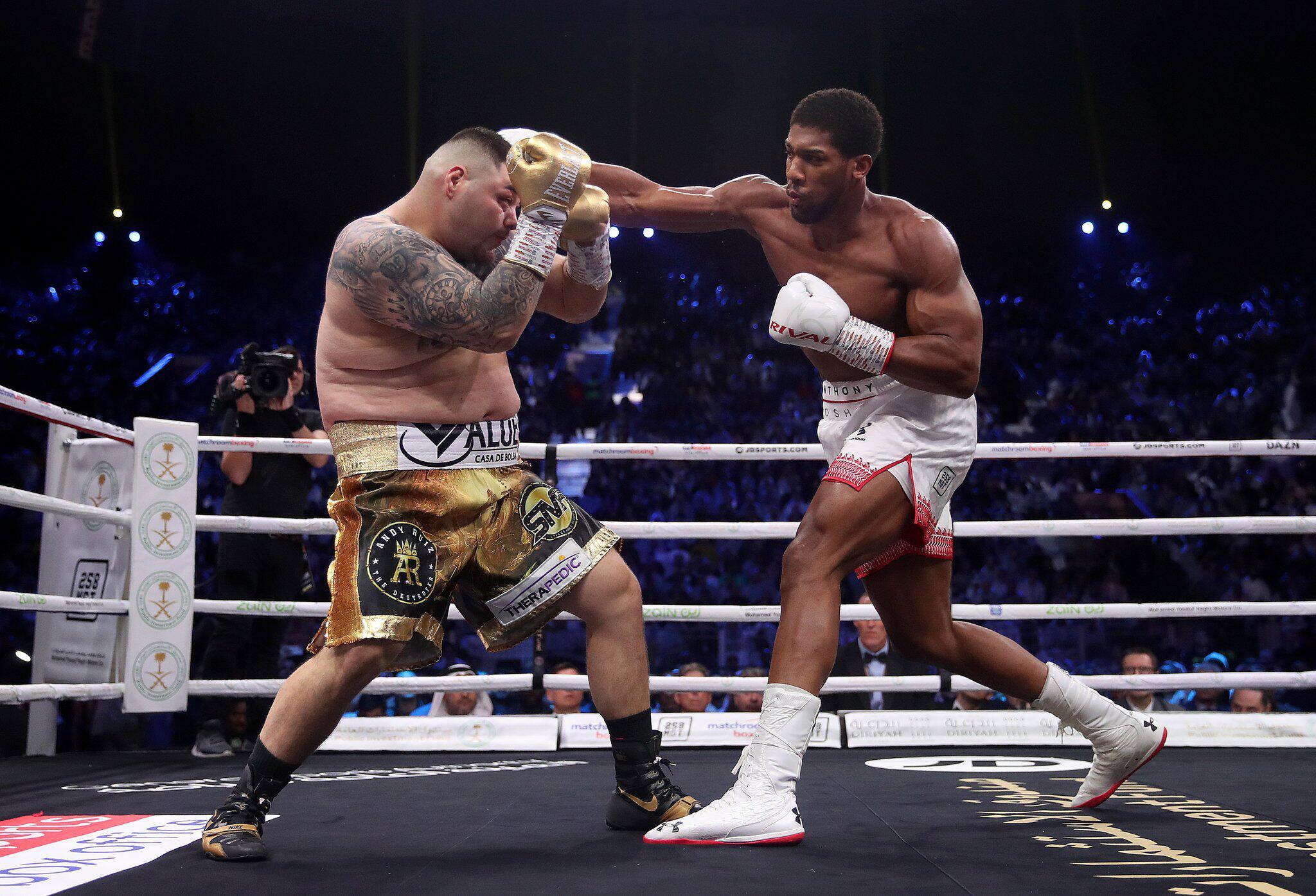 Bild zu Boxkampf Ruiz - Joshua