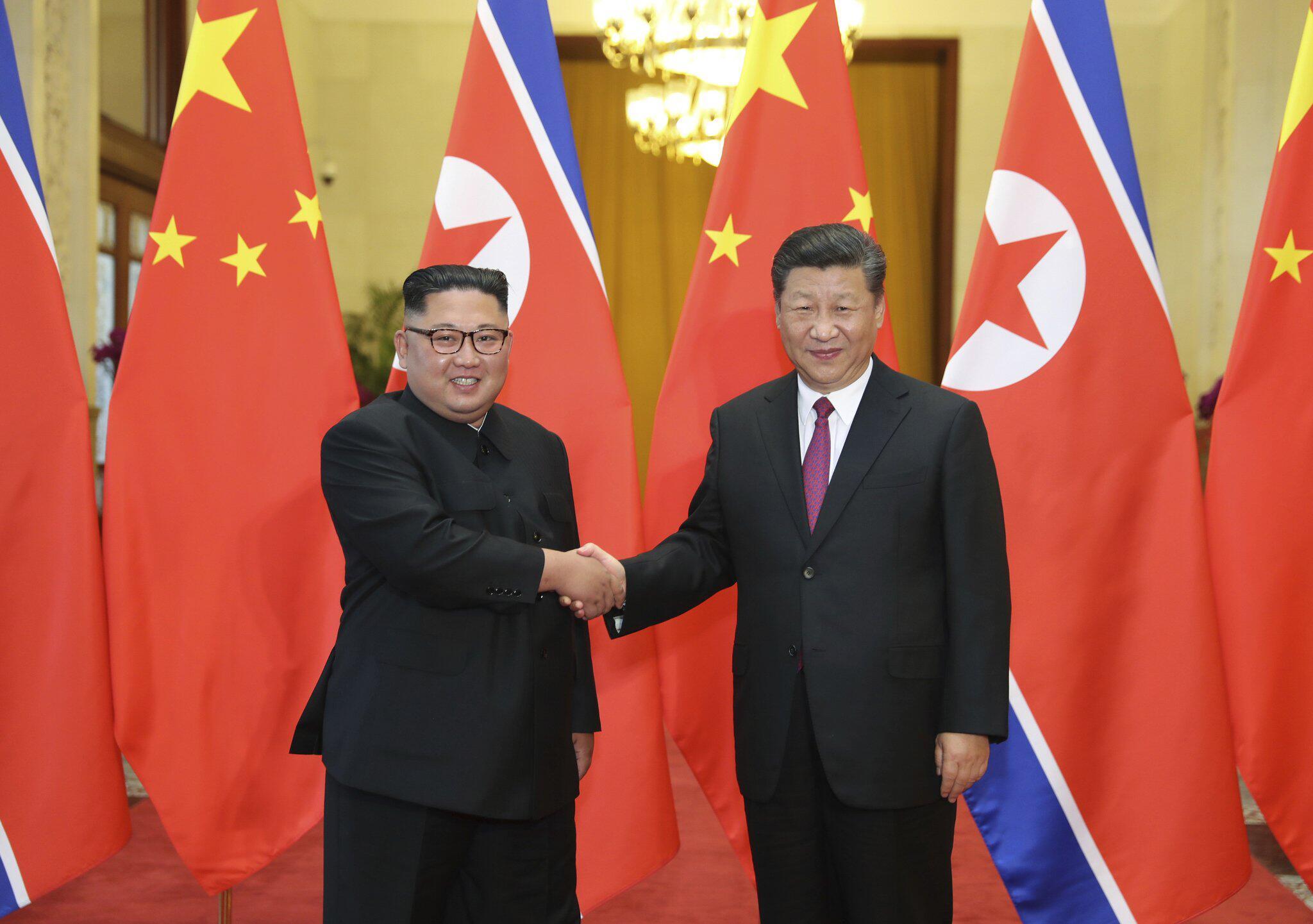 Bild zu Kim Jong Un möglicherweise in China