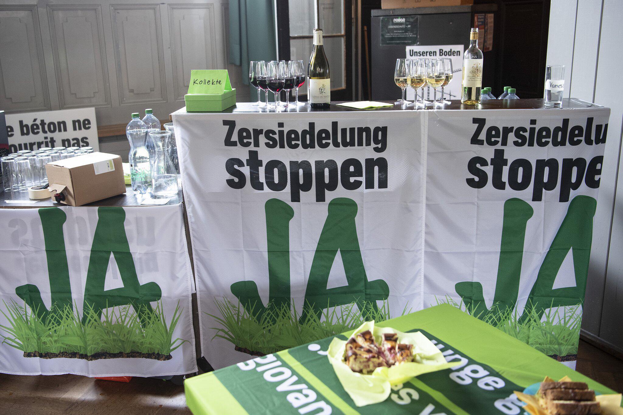 Bild zu Volksabstimmung Zersiedlung stoppen