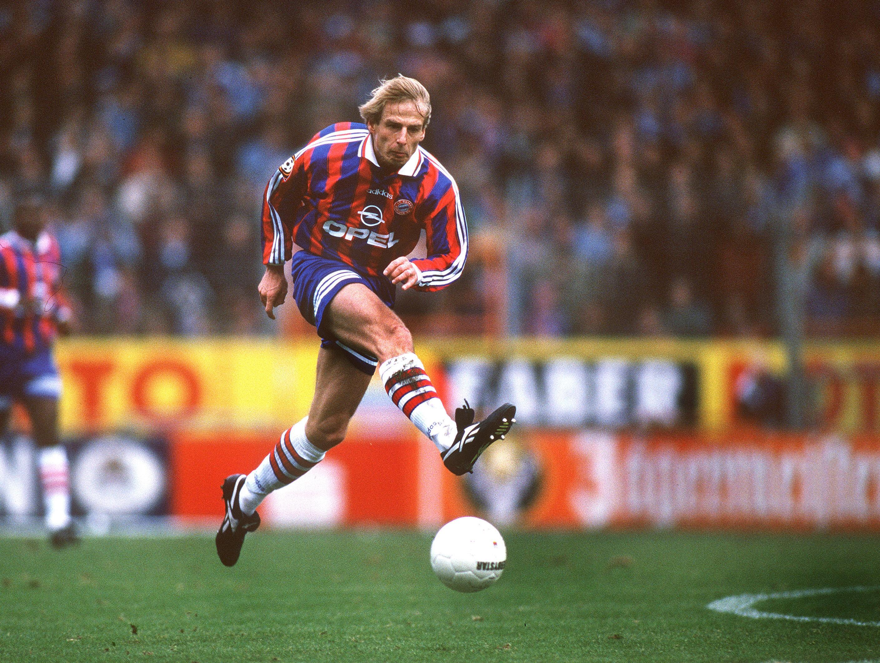 Bild zu Jürgen Klinsmann, FC Bayern München, VfL Bochum, Ruhrstadion, Bundesliga, 1996/97