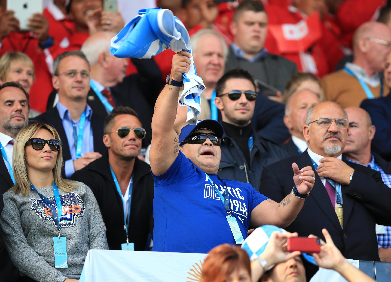 Bild zu Diego Maradona, Rocio Oliva, Leicester, Rugby, WM, Argentinien, Tonga