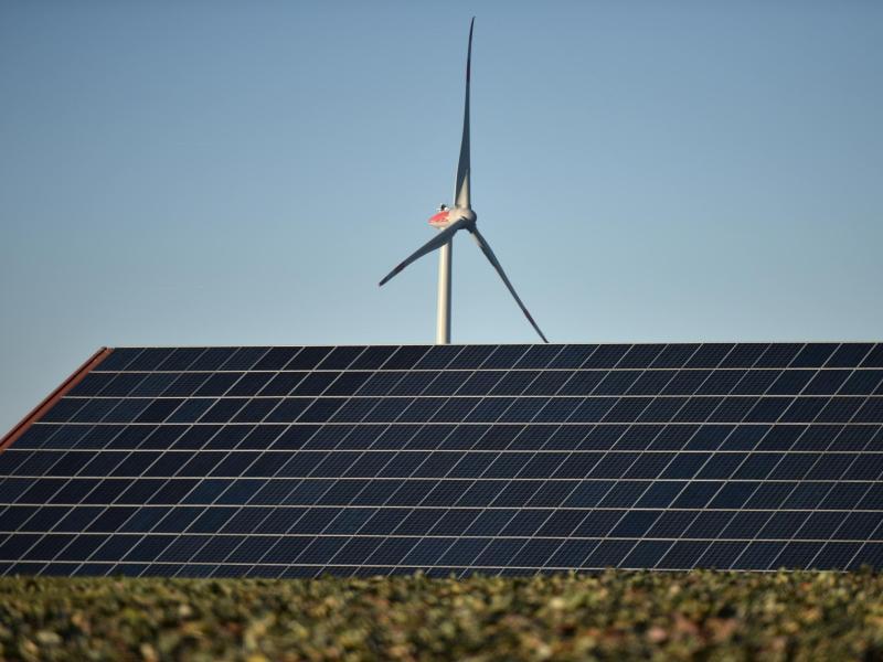 Bild zu Windkraftpark