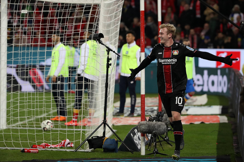 Bild zu Fussball, Bundesliga, Mainz, Leverkusen