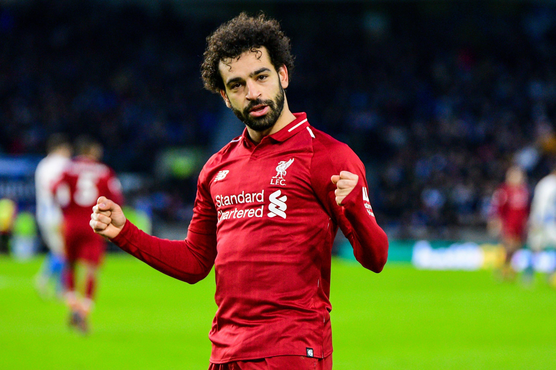 Bild zu Fussball, England, Premier League, Liverpool, Salah