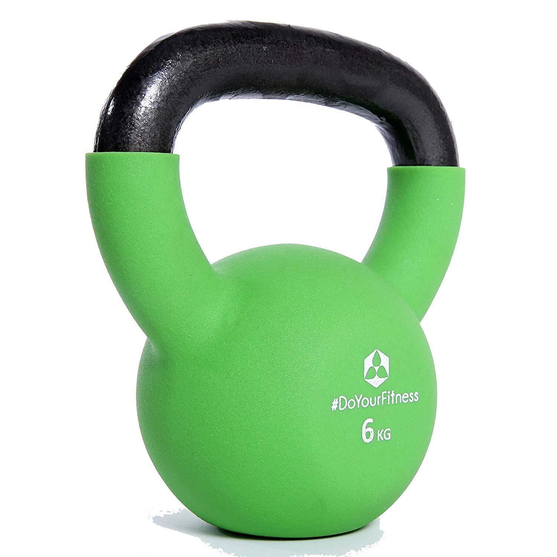 Bild zu Die Kettlebell gibt es in verschiedenen Gewichten.