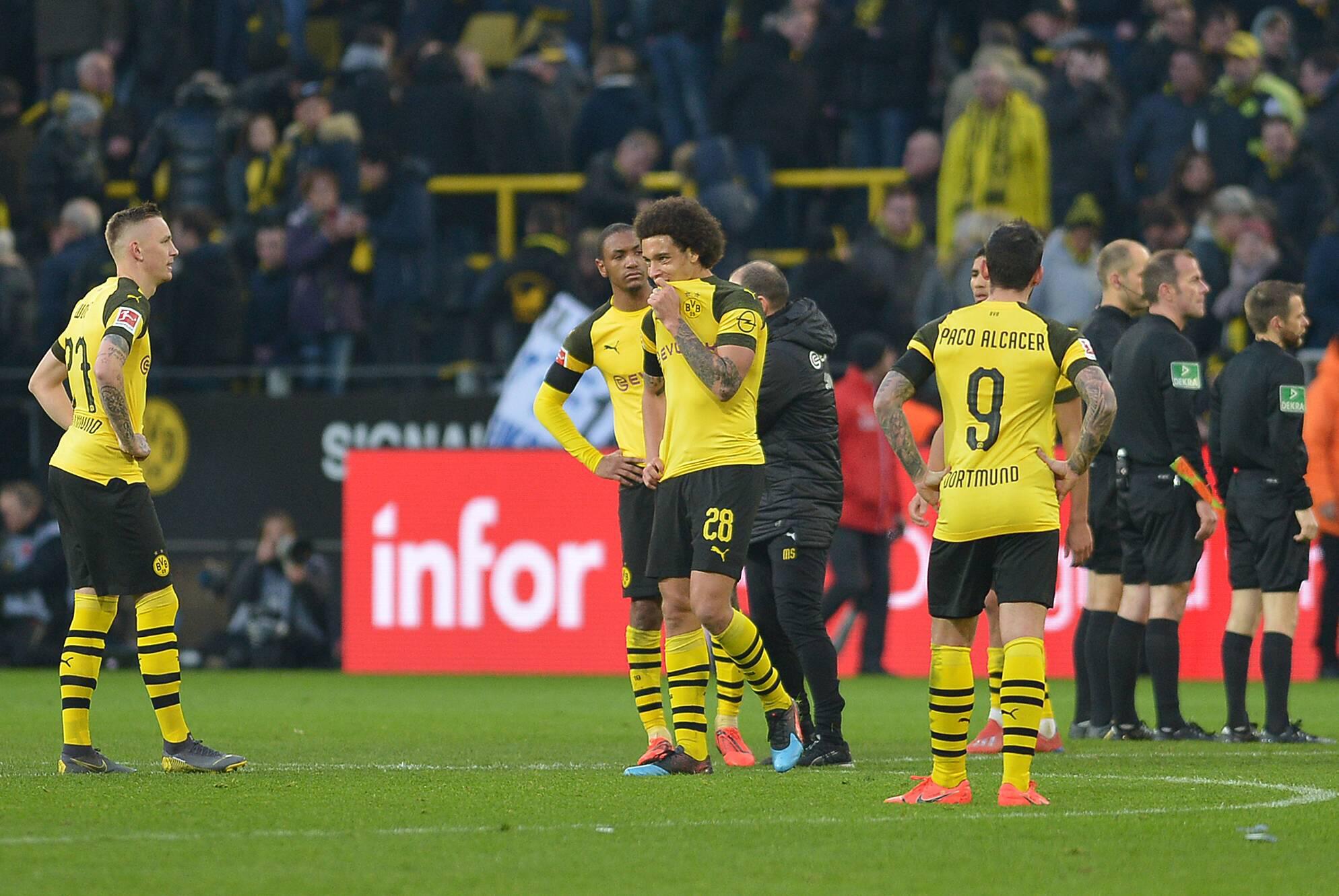 Bild zu Fussball, Bundesliga, BVB, Dortmund, Borussia, Hoffenheim