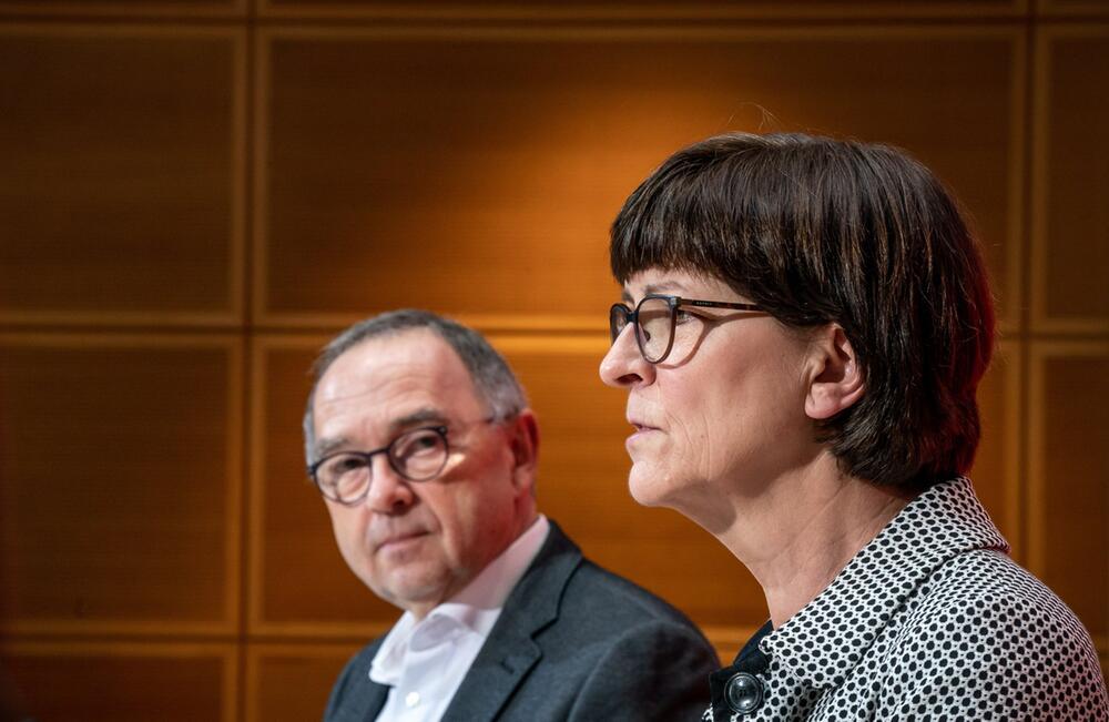SPD press conference